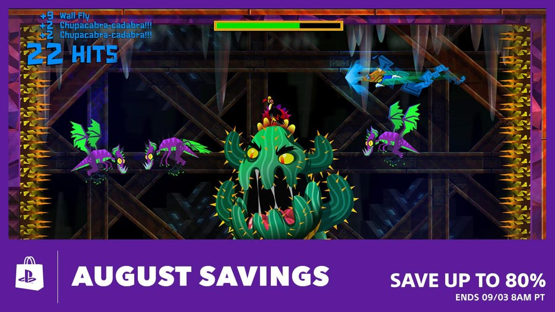 August Savings Up to 80% at PS Store