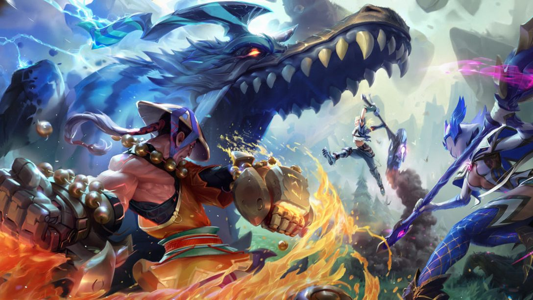 Dauntless' Aether Unbound Update Lands on PS4 Today