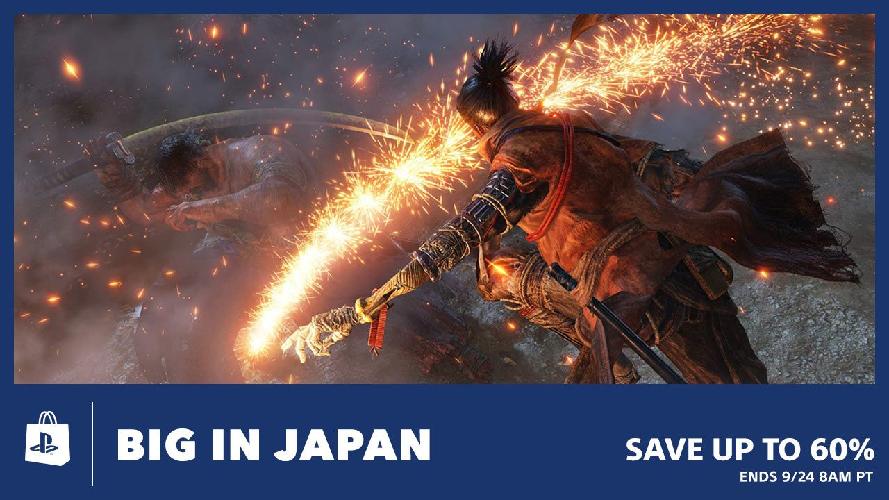 PS Store's Big in Japan Sale Offers Savings up to 60%