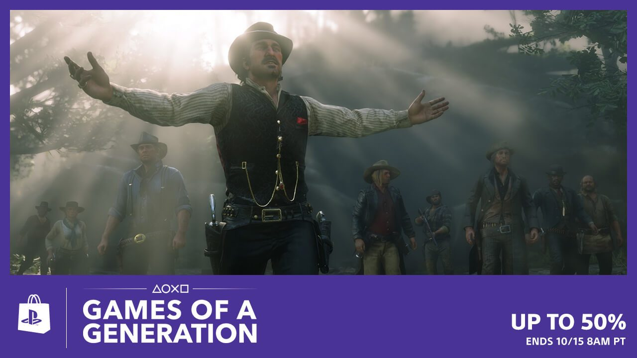 Games of a Generation Hit PS Store