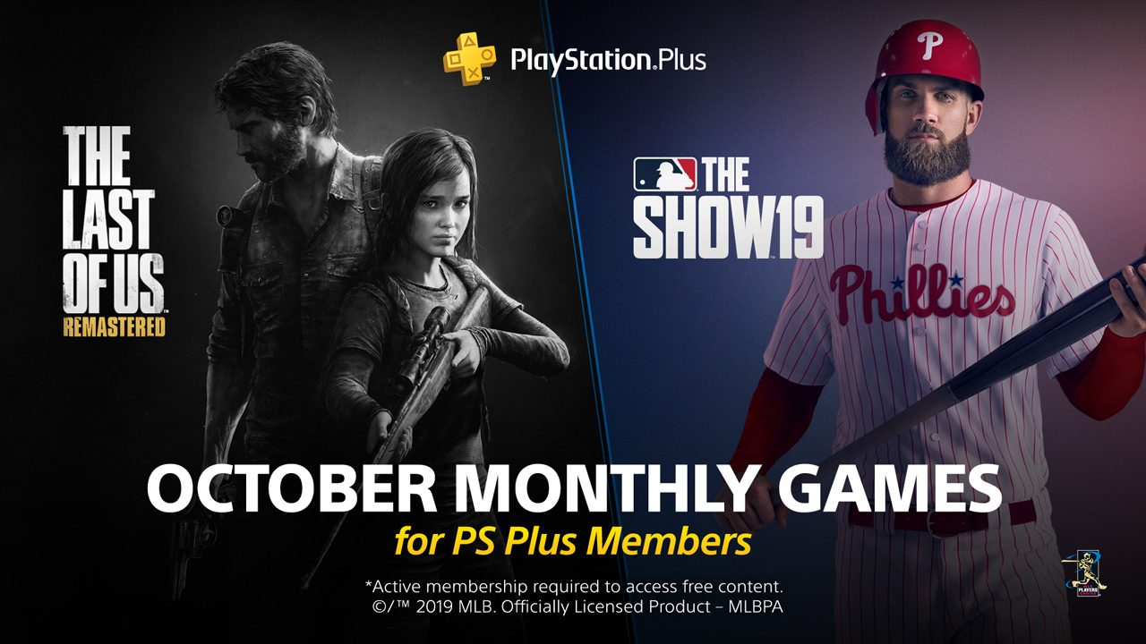 Ps4 Free Games October 2020.Playstation Plus Free Games For October The Last Of Us