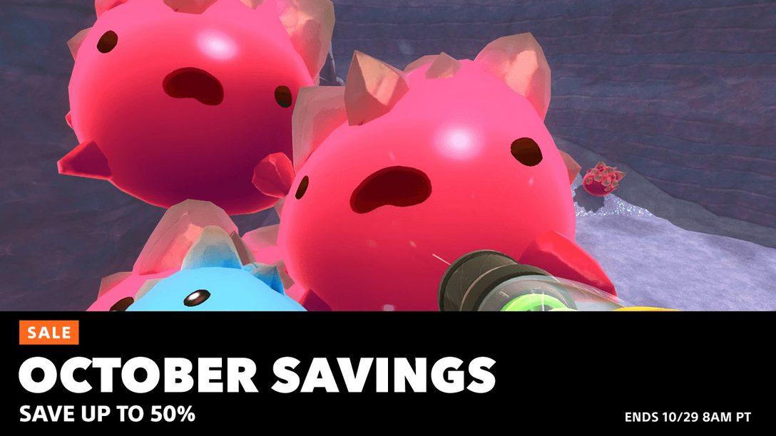 October Savings Hit PlayStation Store