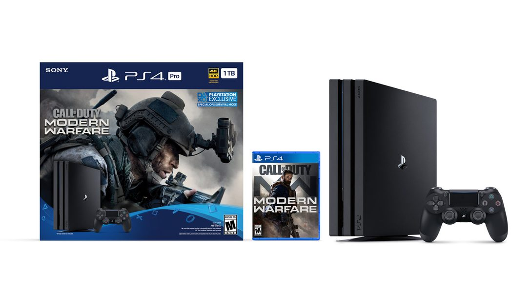 Introducing the New Call of Duty: Modern Warfare PS4 Pro Bundle