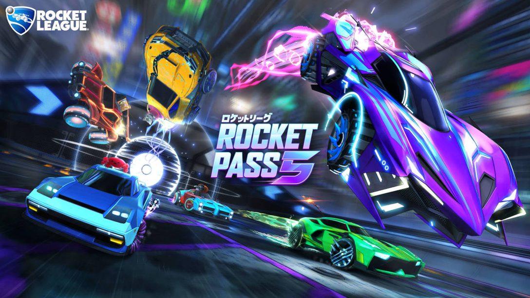 Rocket League Adds Rocket Pass 5, Blueprints, More December 4