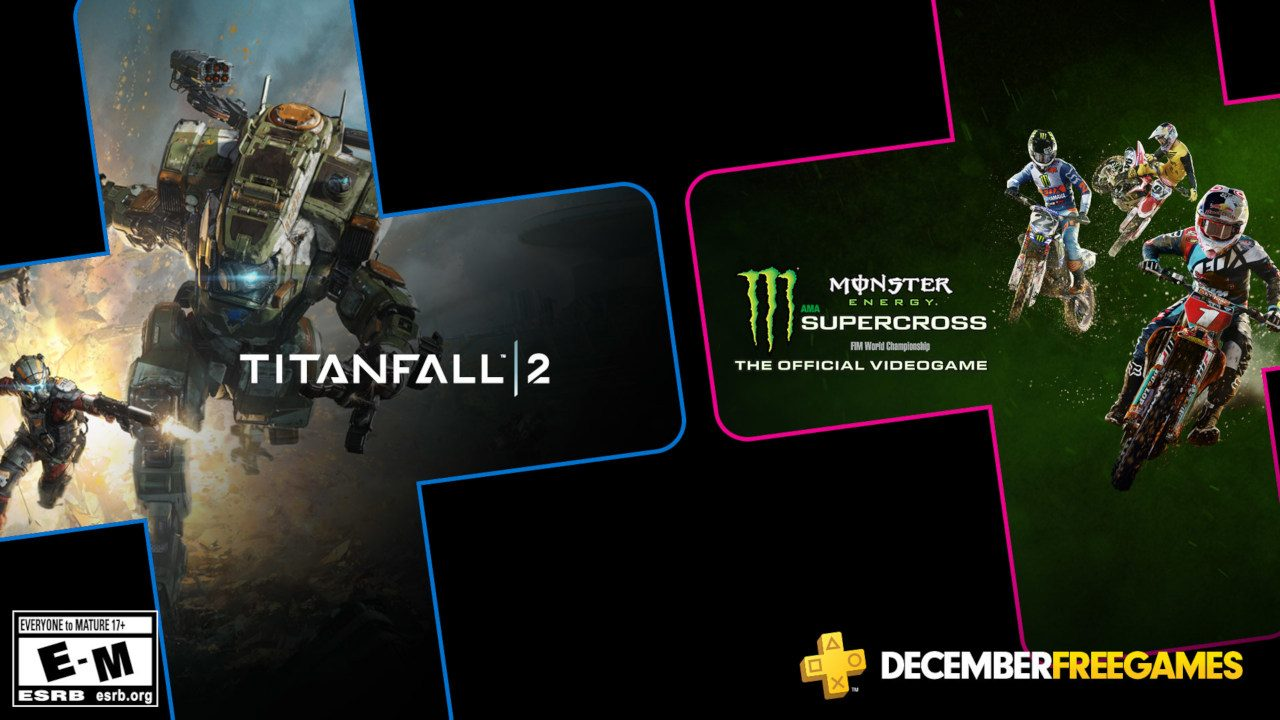 Titanfall 2 is one of December's PlayStation Plus games