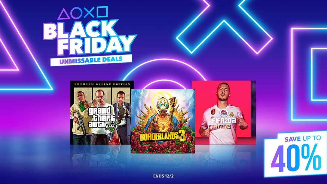 Black Friday Starts Early at PlayStation Store
