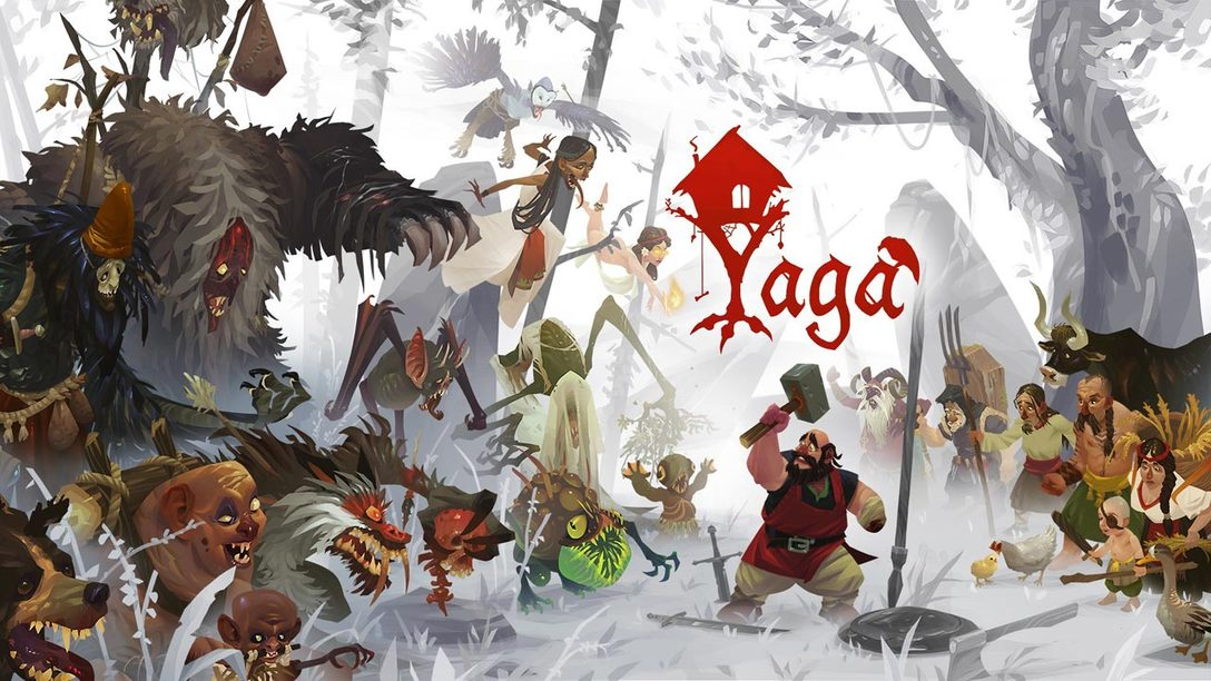 Roleplaying Folktale Yaga Out Tomorrow on PS4