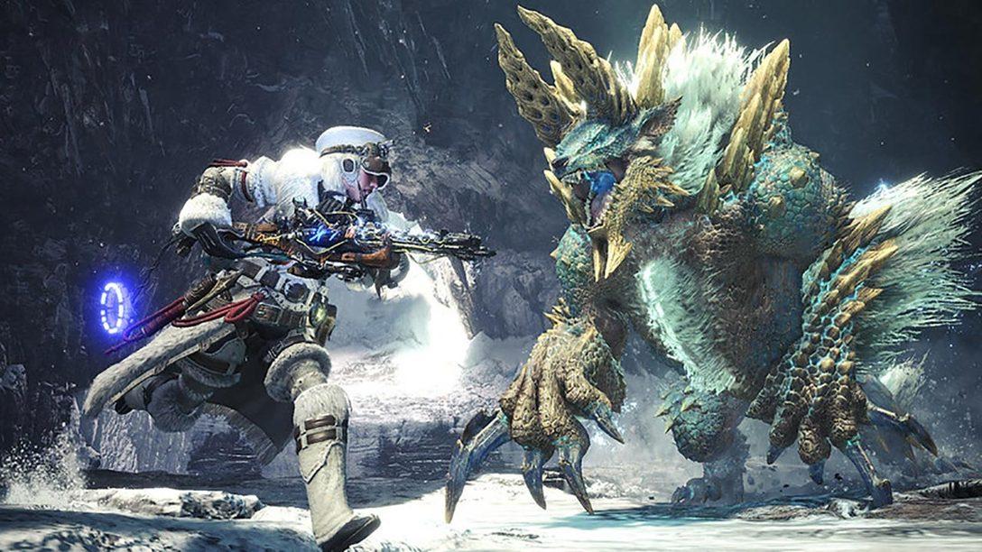 Horizon Zero Dawn: The Frozen Wilds Gear Storms Into Monster Hunter World: Iceborne