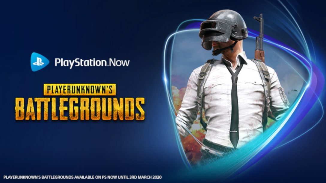 PUBG Joins the PS Now Lineup Today