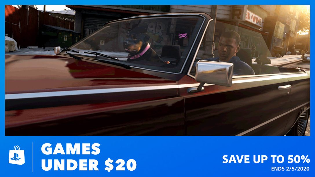 Kick off the 20s with Games Under $20 at PS Store