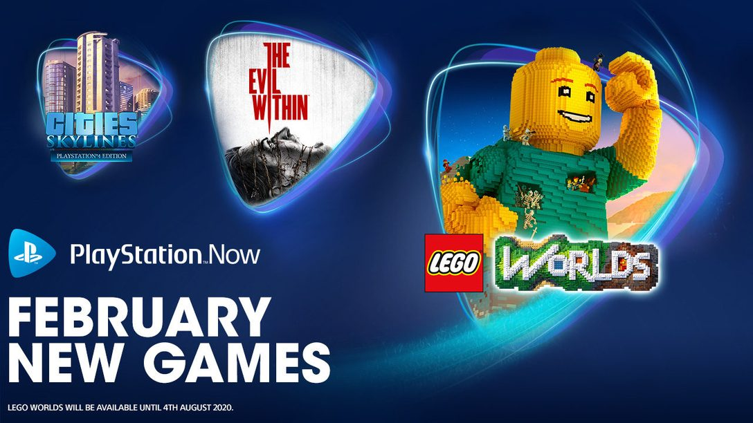 The Evil Within, LEGO Worlds, and Cities: Skylines join PS Now in February