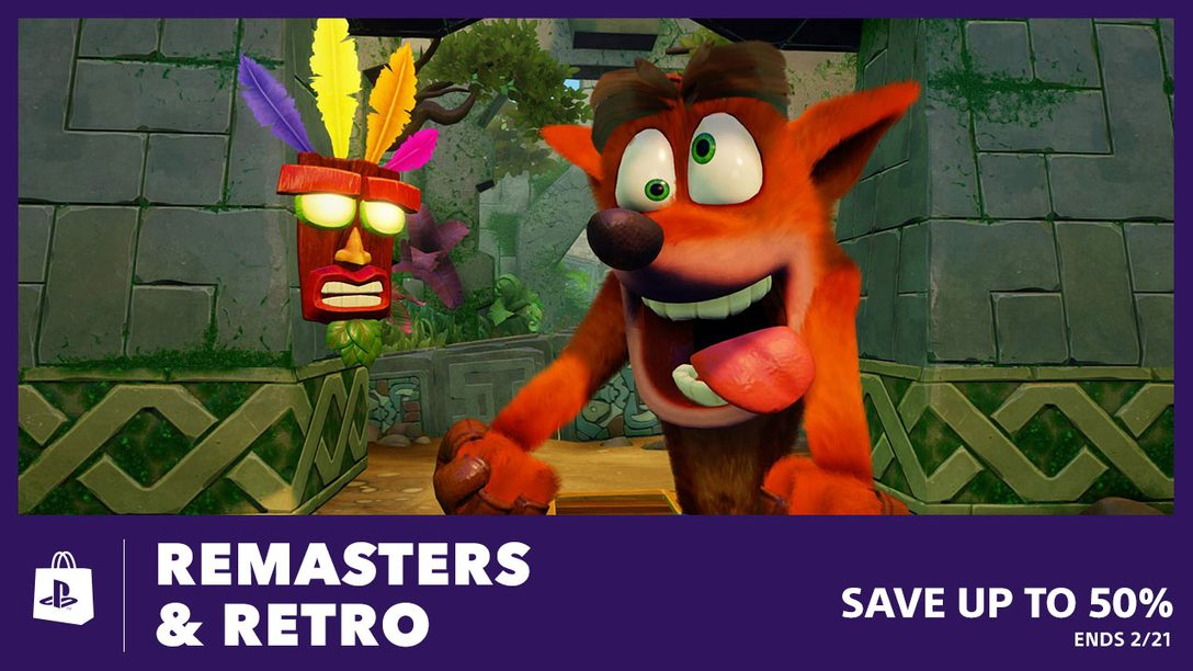 Remasters & Retro Sale Turns Back the Clock at PS Store