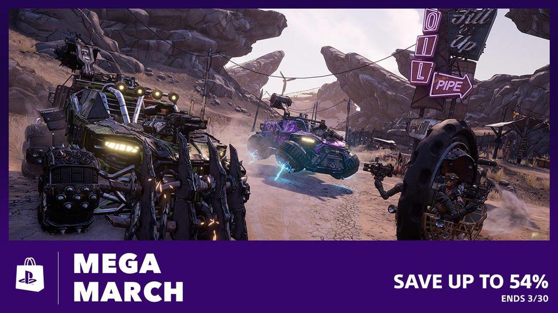 Mega March Sale Arrives at PS Store