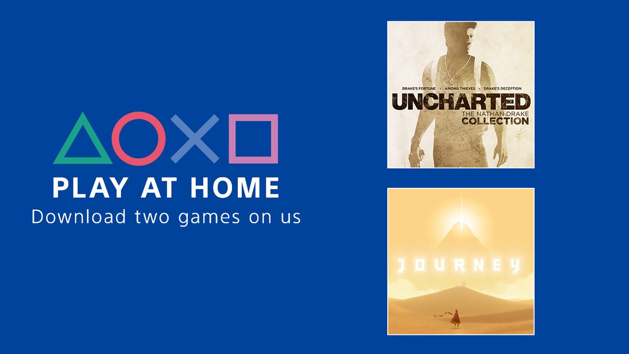 Announcing the Play At Home Initiative – PlayStation.Blog