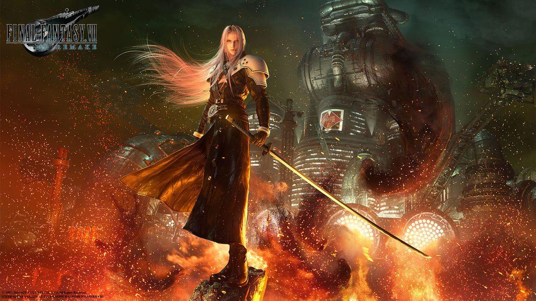 Final Fantasy VII Remake Arrives on PS4 March 3, 2020