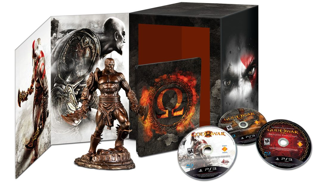 Fecha de salida de God of War Omega Collection.