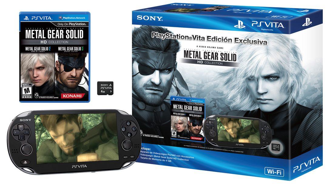 PlayStation Vita Edición Exclusiva: Metal Gear Solid HD Collection