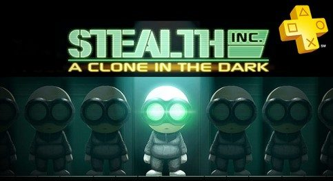 PS Plus:  Stealth Inc. A Clone in the Dark gratis.