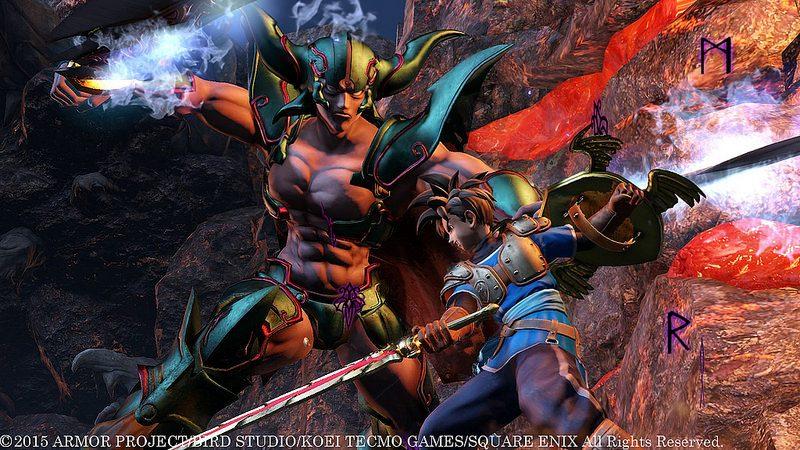 Dragon Quest Heroes llega a PS4 el 13 de octubre