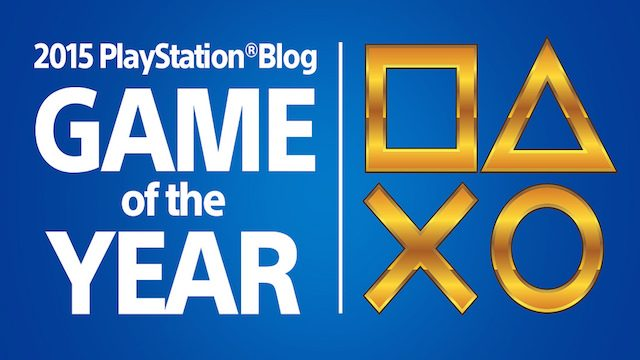 Ganadores: PlayStation.Blog 2015 Game of the Year Awards
