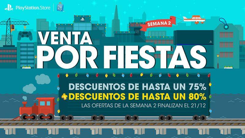 Venta de Fiestas de Fin de Año para México, segunda semana