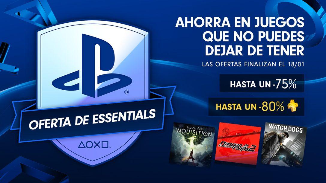 Oferta de PlayStation Essentials para LATAM