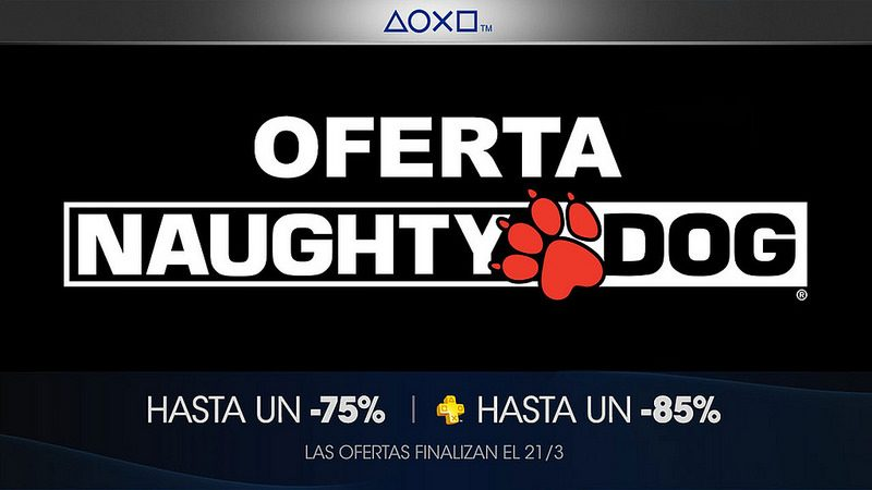 Oferta Naughty Dog para México