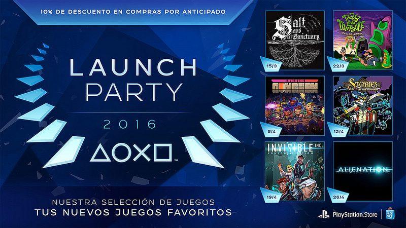 Presentamos Launch Party en PlayStation Store: seis semanas, seis nuevos juegos