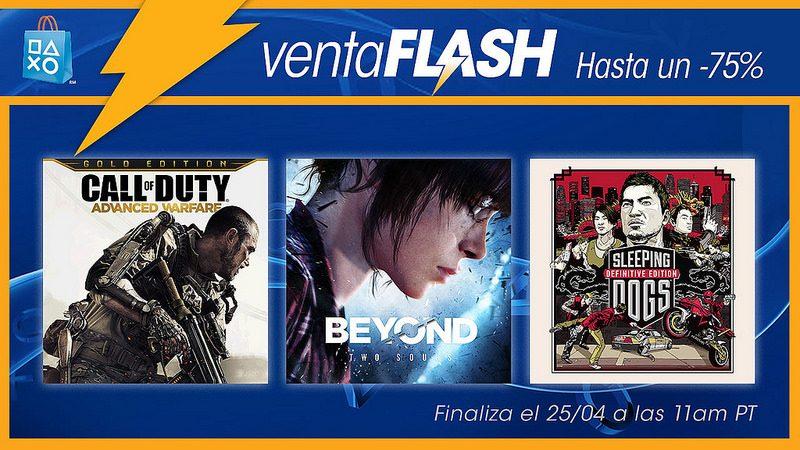 Venta Flash: Ofertas de juegos y películas de acción para LATAM