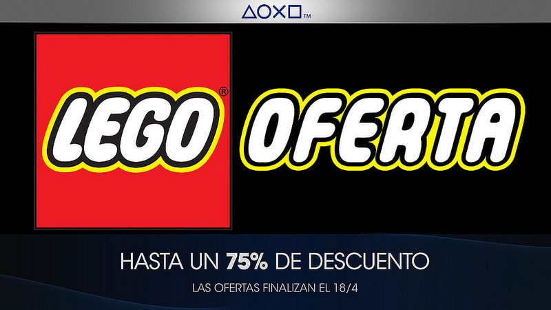 Oferta LEGO para México
