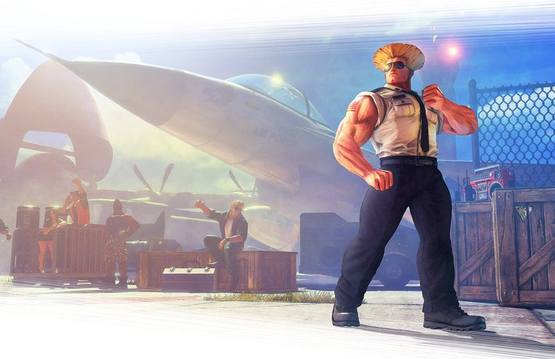¡Guile se une a la lista de luchadores de Street Fighter V este mes! Detalles de la actualización de abril.