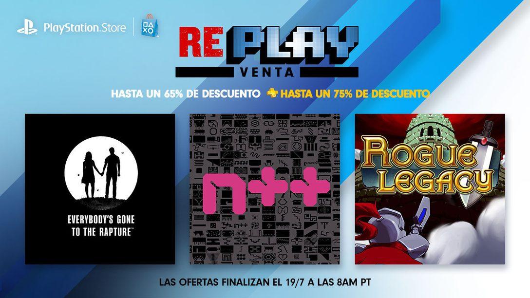 Venta Re-Play: Ahorren hasta un 65 % en títulos previos de PLAY