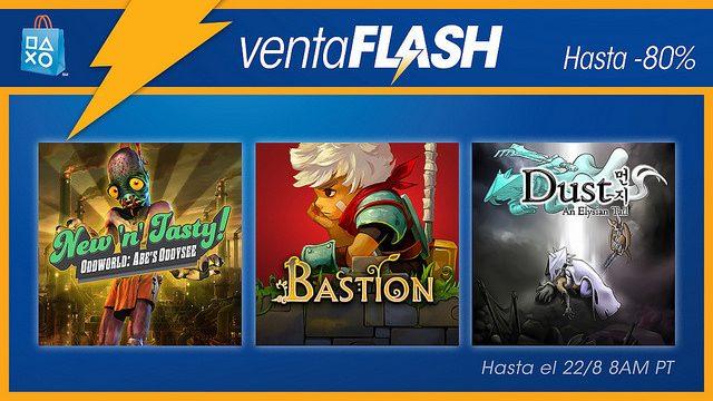 Venta Flash desde ya: Ahorren hasta un 80 % en juegos de Otro Mundo