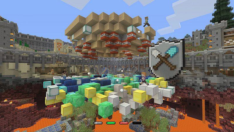 Tumble, el mini juego de Minecraft, disponible desde hoy en PS4, PS3 y PS Vita