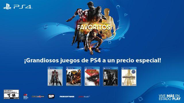 Grandes juegos de PS4 a un precio especial por tiempo limitado