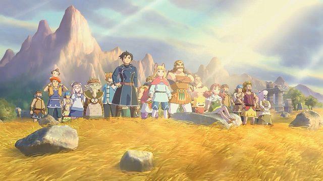 Ni no Kuni II: Revenant Kingdom se lanzará en PS4 en 2017