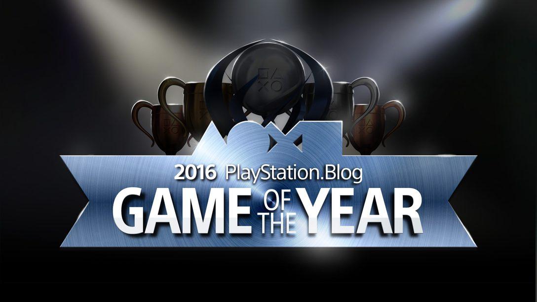 Estos son los ganadores de Juego del Año 2016 para el Blog de PlayStation