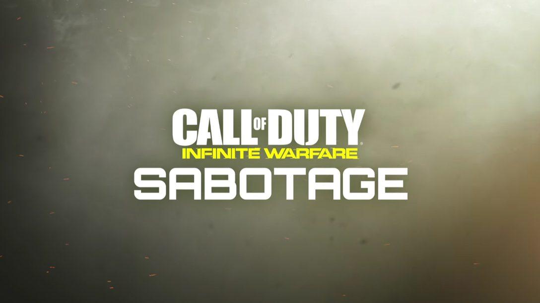 Sabotage, primer DLC de Infinite Warfare se lanza en PS4