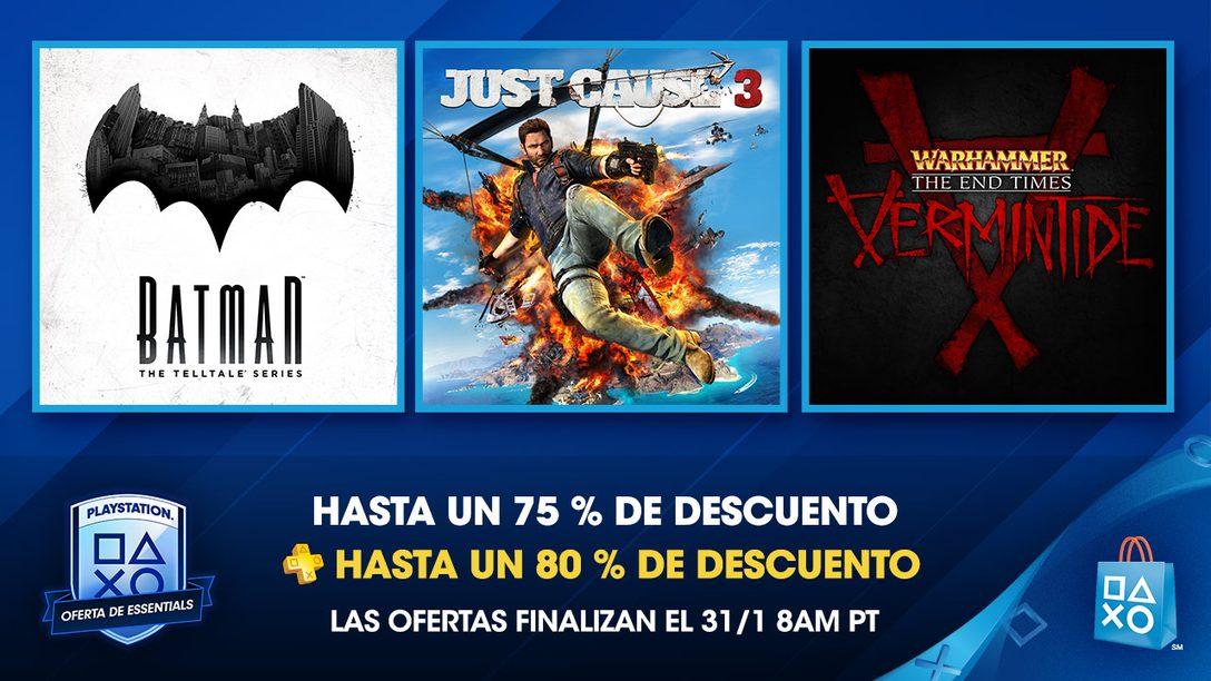 Oferta de Essentials de PlayStation: ahorren hasta 75 %, Plus hasta 80 %