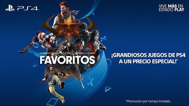 Algunos de sus Juegos Favoritos de PS4 a Precios Especiales