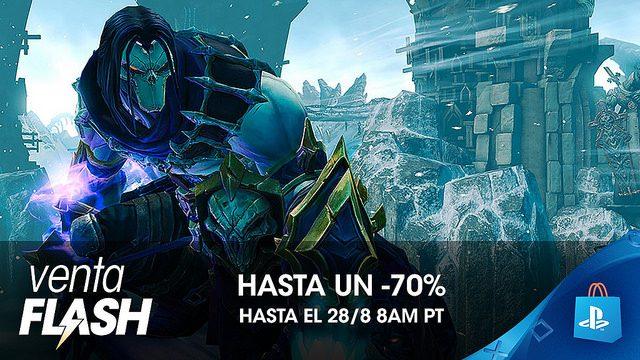 Venta Flash de Agosto: Descuentos de Hasta el 70 % en PS Store