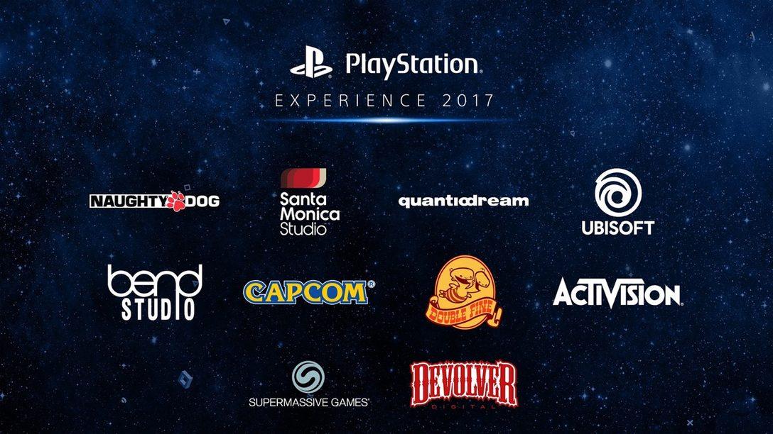 ¡PlayStation Experience 2017: Más de 80 Expositores Confirmados!