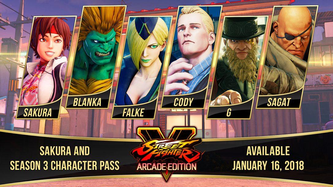 Se Anuncia Street Fighter 30th Anniversary Collection, Sakura Llegará a SFV: Arcade Edition