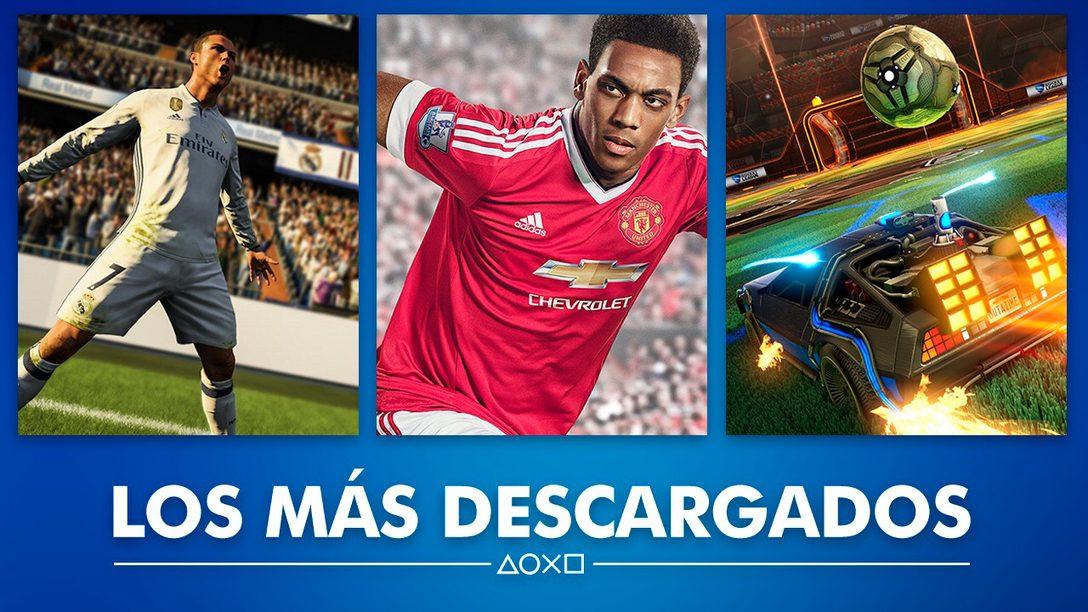 Estos Fueron los Juegos Más Descargados en PS Store Durante 2017