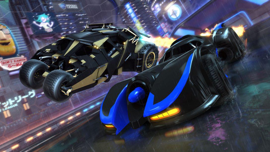 Rocket League: DC Super Heroes DLC Pack se lanza el 5 de Marzo