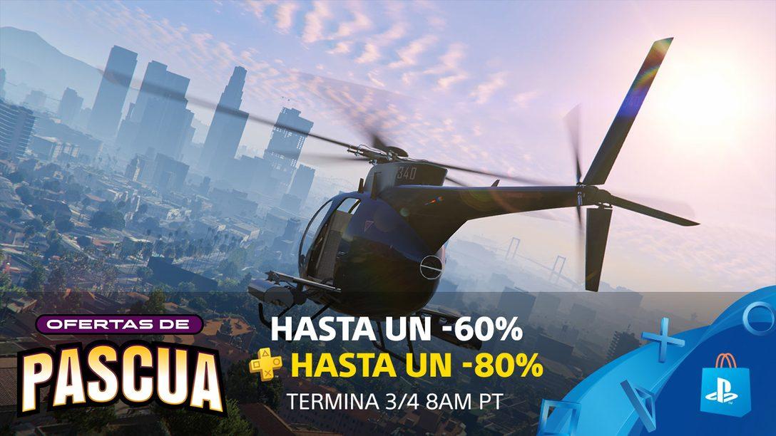 ¡Las Ofertas de Pascua de PS Store para Latinoamérica, Traen Descuentos de Hasta el 60%!