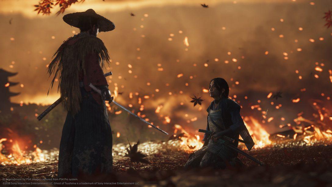 Barro, Sangre y Acero: ¡Este es el Debut del Gameplay de Ghost of Tsushima!