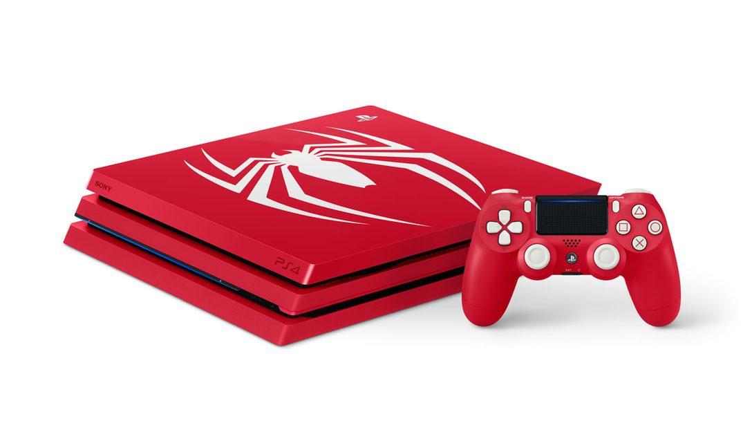 Bundle de Edición Limitada de Marvel's Spider-Man PS4 Pro llegará a Latinoamérica