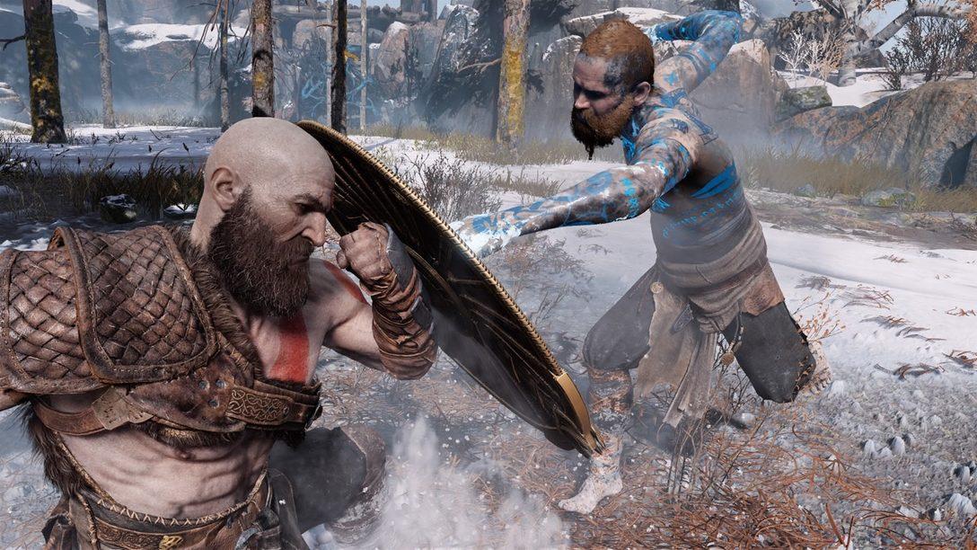 Luchando contra un Dios: Detrás Escenas en la Batalla del Primer Jefe de God of War