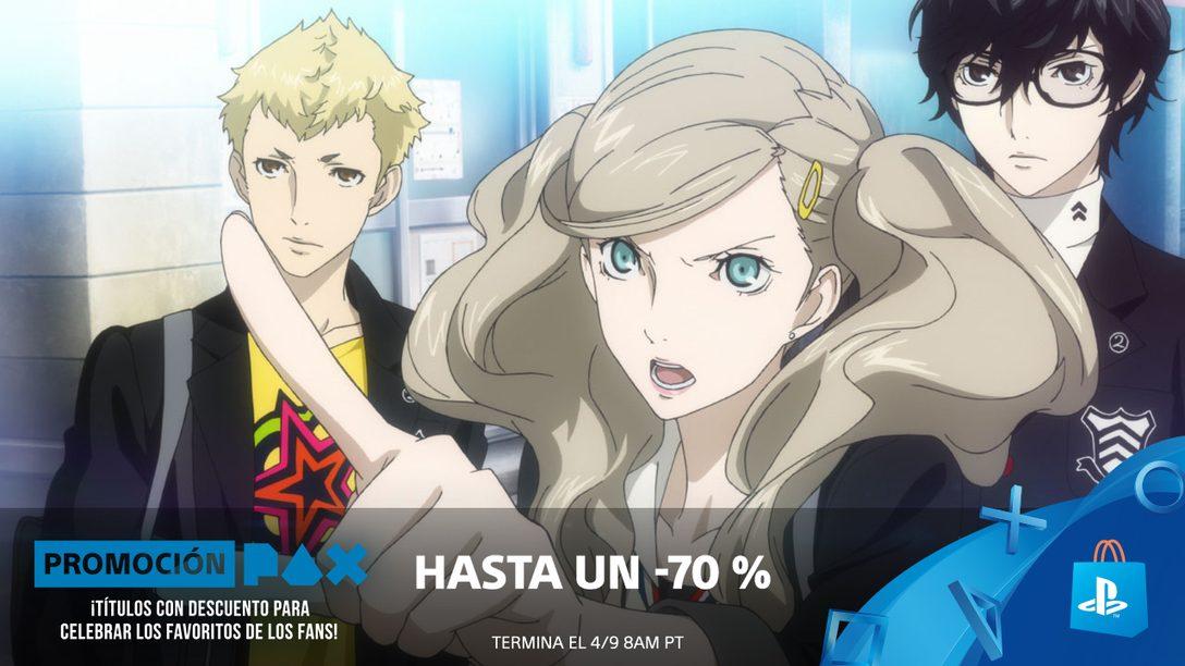 ¡Promoción PAX! Ahorren hasta 70% en PlayStation Store